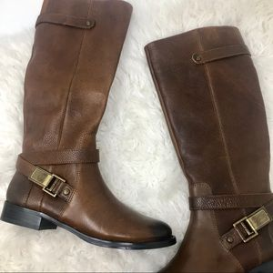 Nearly new Arturo Chiang leather riding boots